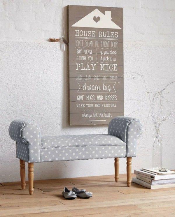 Wanddeko Ideen Flur DIY DIY Pinterest