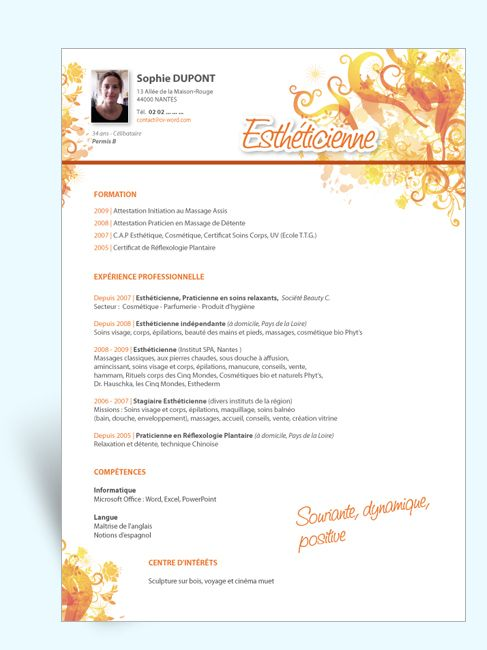 Modele Cv Estheticienne Gratuit Cv Anonyme Exemple De Lettre De Motivation Lettre De Motivation Lettre De Motivation Stage