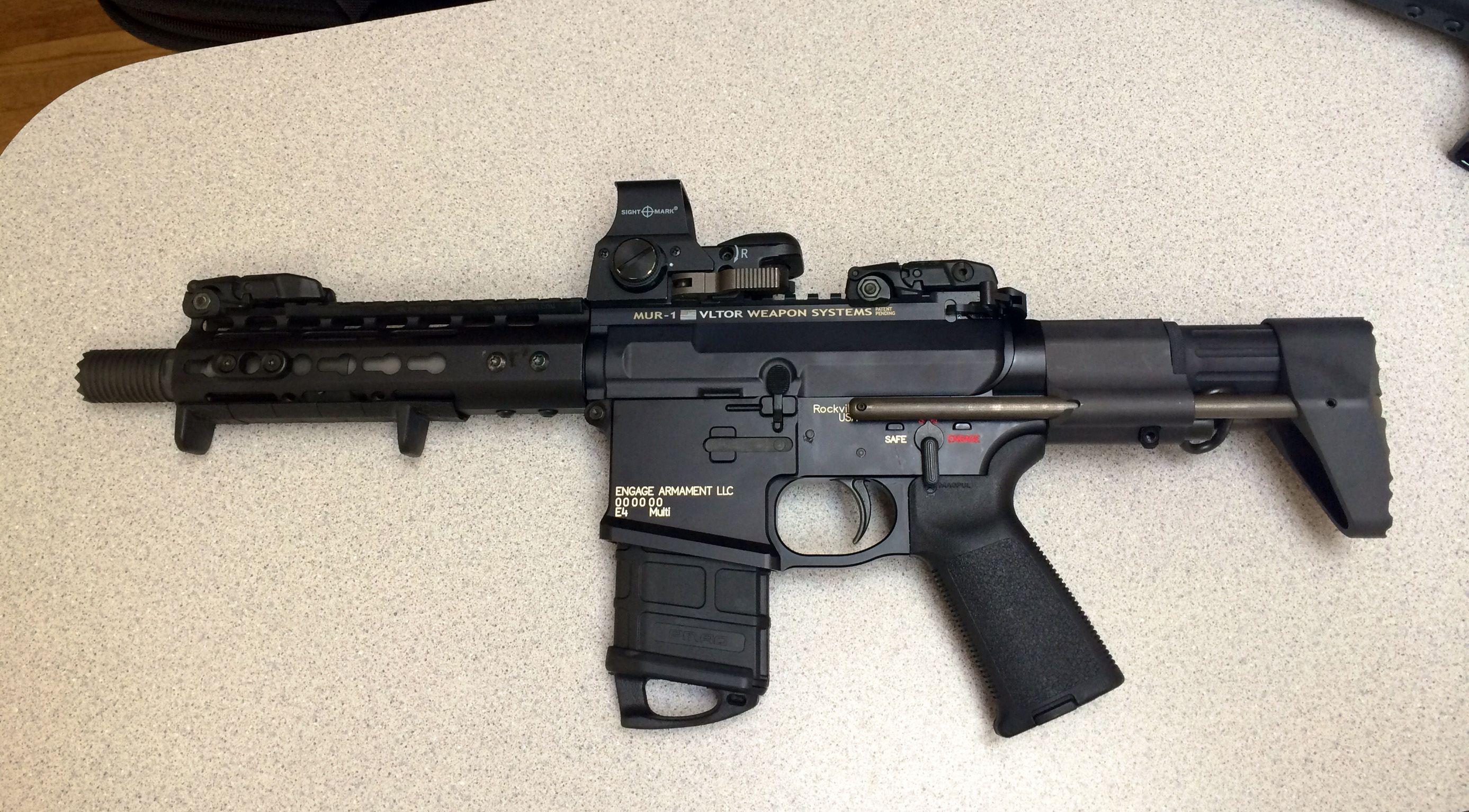 Engage Armament E4 PDW with NEA CCS Stock, Noveske Diplomat