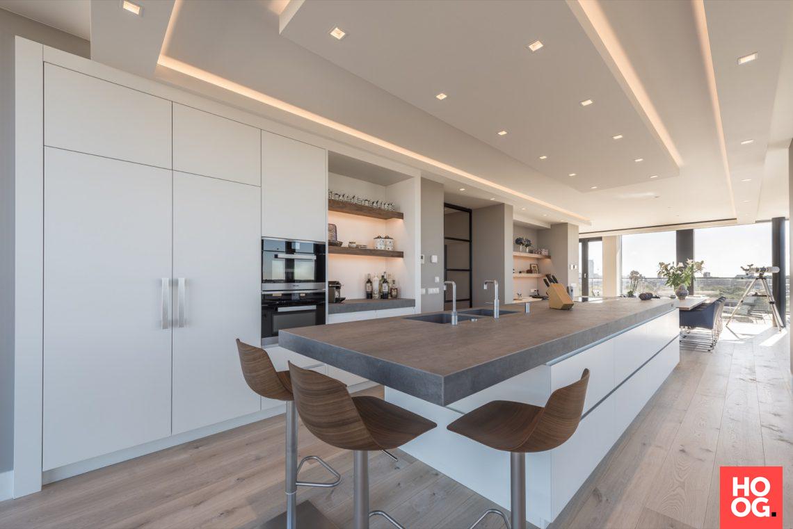martin van essen penthouse met luxe interieur hoog exclusieve woon en tuin