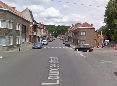 Werken Lourdesstraat Oostakker