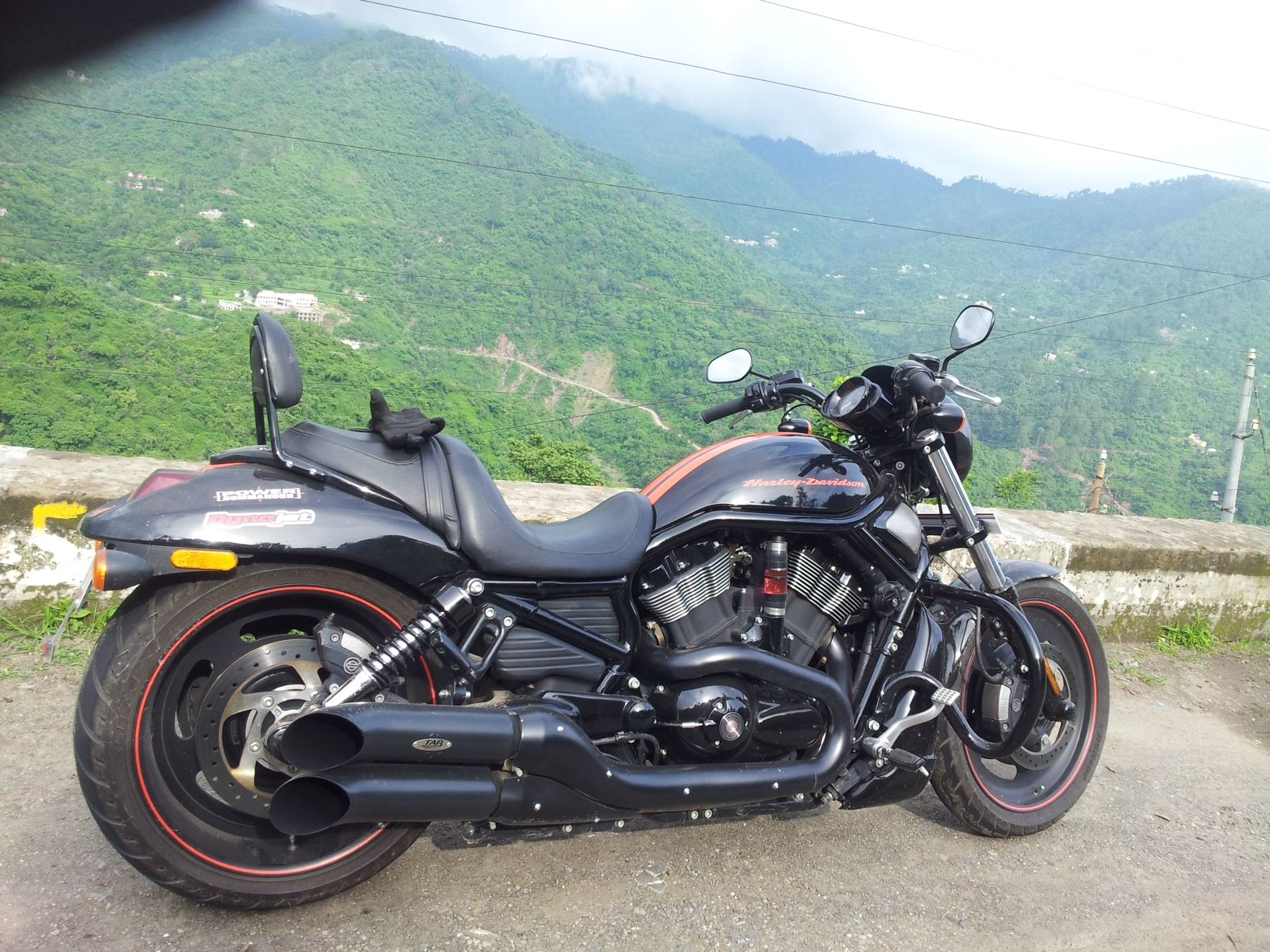 vishesh chaudhary 39 s harley davidson vrscdx night rod special with tab performance turn out. Black Bedroom Furniture Sets. Home Design Ideas