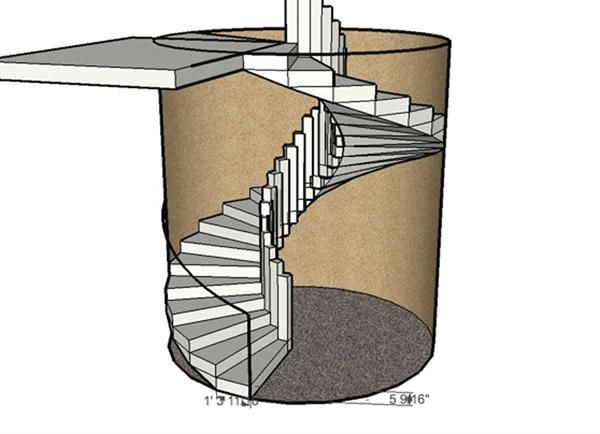 Best Forming A Circular Concrete Staircase Concrete Staircase 400 x 300