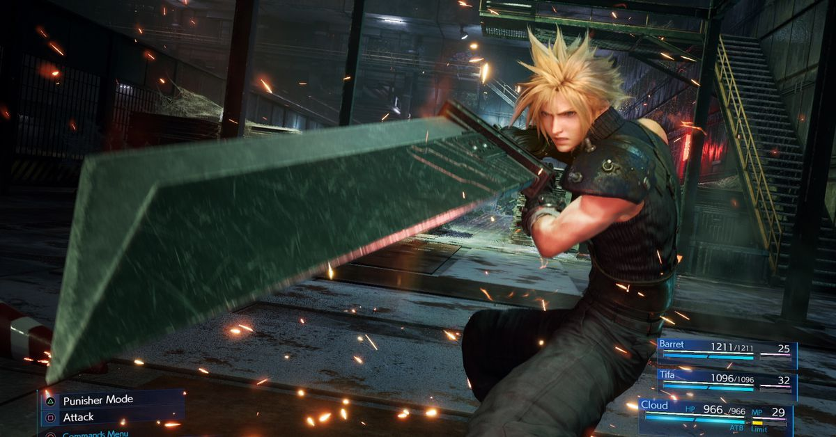 Final Fantasy 7 Remake Will Have A Turn Based Classic Mode That