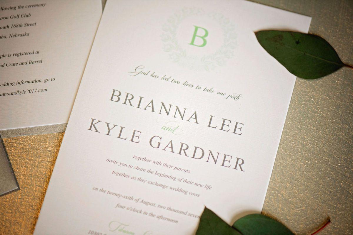 Wedding Essentials Omaha Green Slate Styled Shoot Leah Marie