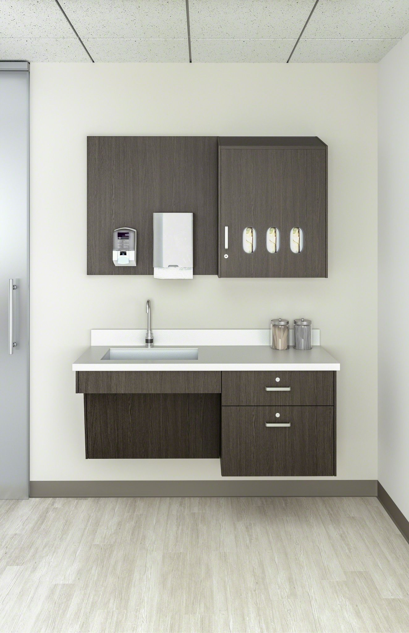 Terrific Convey Modular Casework Steelcase Health System Interior Design Ideas Gentotthenellocom