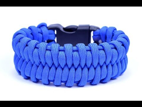 Learn how to make the Fishtail Belly Paracord Bracelet - Bored? Paracord! - YouTube