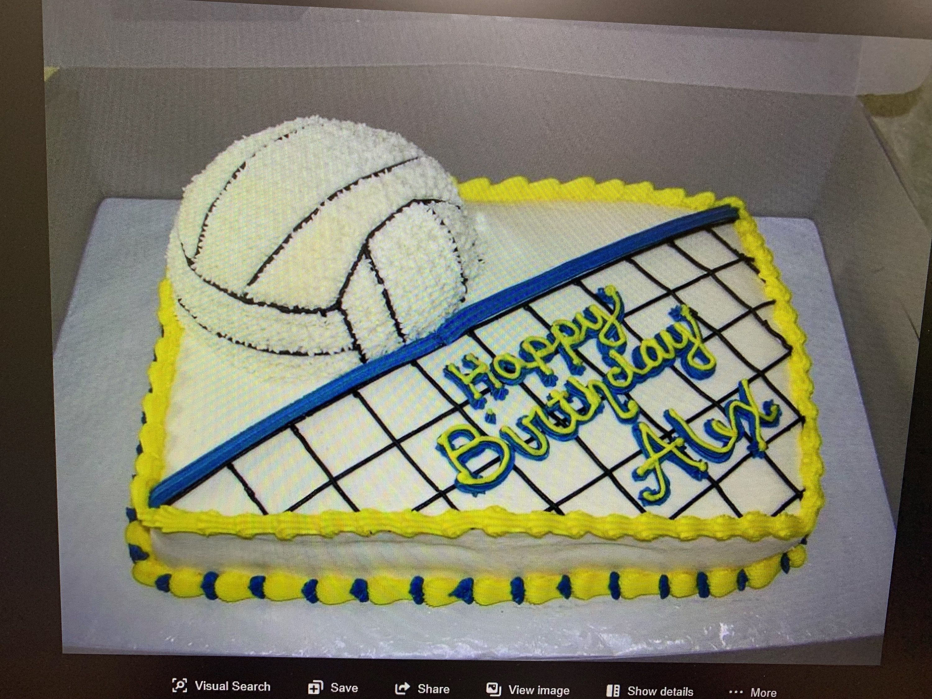 Pin By Kathy Miller On Ideas For Cakes Cupcakes Volleyball Cakes Cake Cake Recipe For Decorating