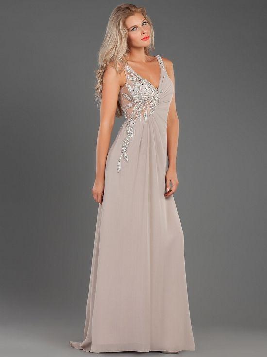 06c547ba169 Φόρεμα μακρύ βραδινό με κέντημα στο μπούστο - Κλασικά Φορέματα ...