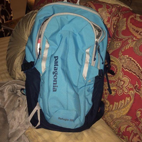 Patagonia Backpack Baby blue full size backpack Patagonia Bags Backpacks