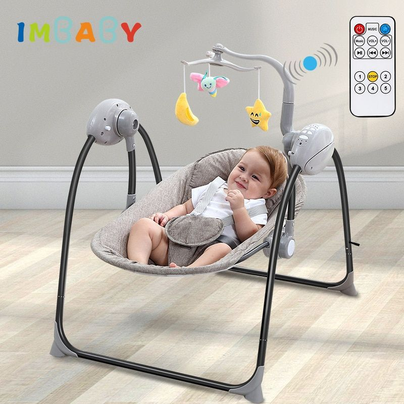 Aliexpress Com Buy Imbaby Baby Swing Baby Rocking Chair Electric Baby Cradle With Remote Control Cradle Ro Baby Rocking Chair Baby Cradle Swing Newborn Swing