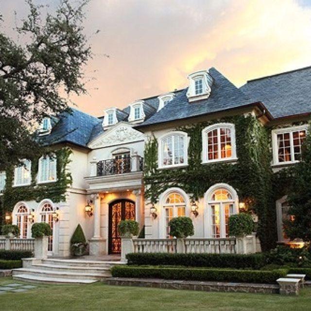 Blessedprincesa casas pinterest casas mansiones y - Mansiones de ensueno ...