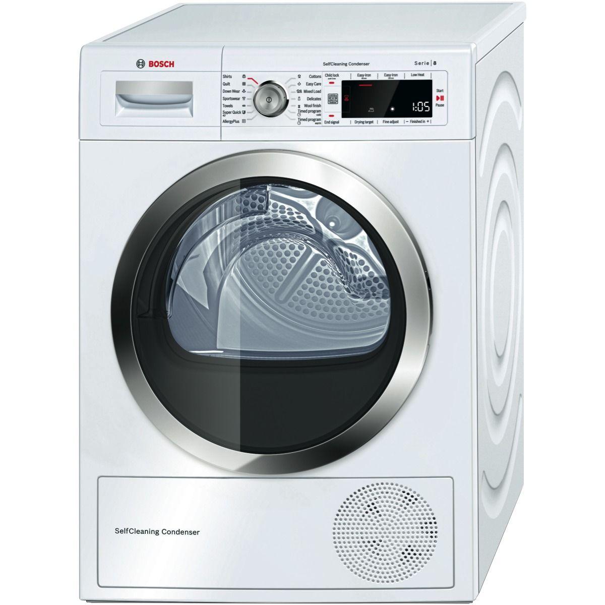 Bosch Wtw87565au 9kg Heat Pump Dryer At The Good Guys Electric