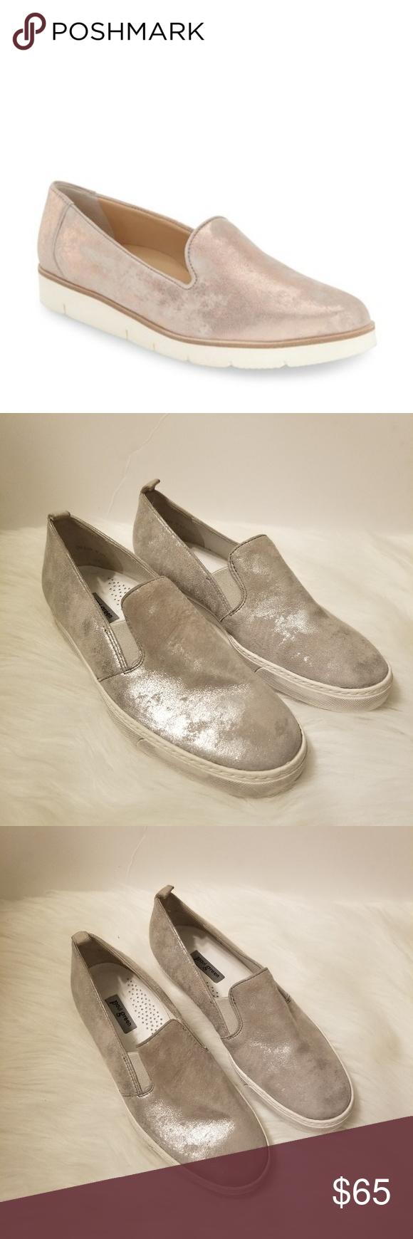 Paul Green Winslow Silver Metallic Slip