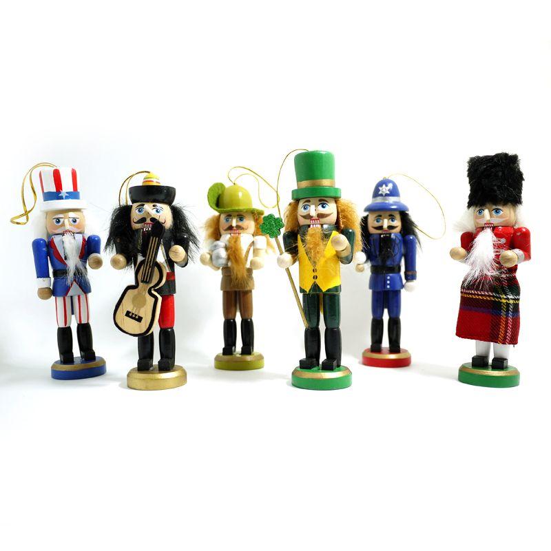 $14.39 (Buy here: https://alitems.com/g/1e8d114494ebda23ff8b16525dc3e8/?i=5&ulp=https%3A%2F%2Fwww.aliexpress.com%2Fitem%2FHT026-Free-shipping-Action-Toy-13cm-new-car-desk-office-Nutcracker-ornaments-creative-ornaments-Christmas-ornaments%2F32602521372.html ) HT026 Free shipping Action & Toy 13cm Nutcracker creative puppets doll toy children Christmas gift 6 pcs/lot for just $14.39