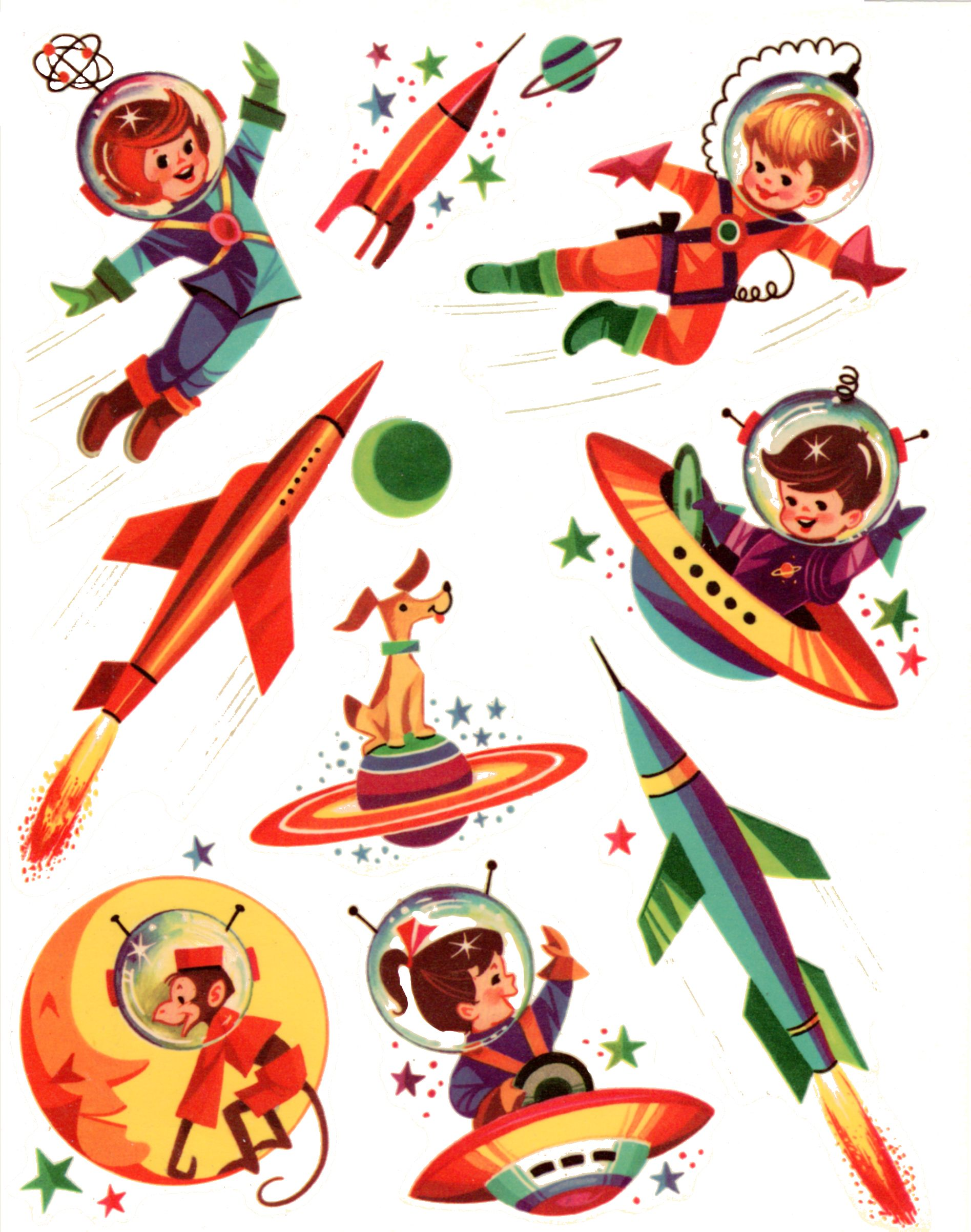 retro rocket logo images spaced out pinterest