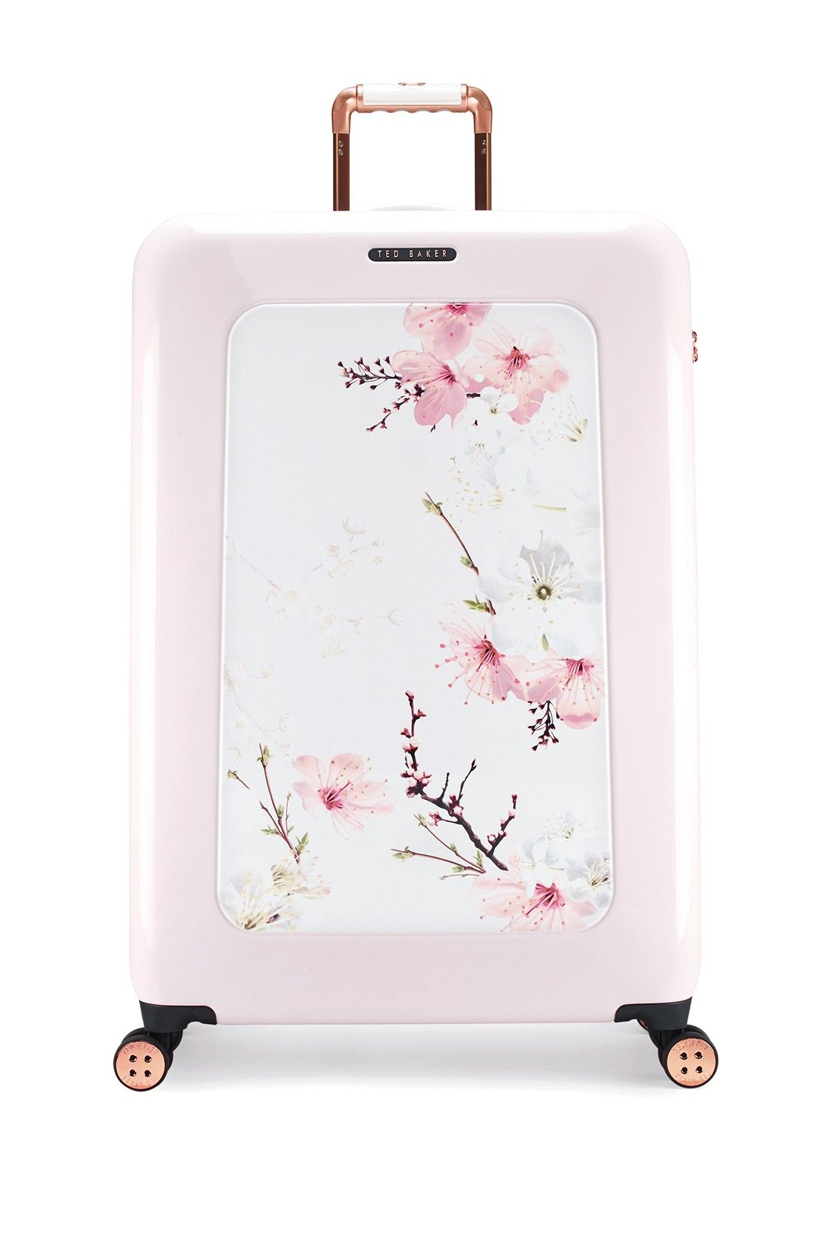 1aaa79072b5b11 Oriental Blossom 4 Wheeled Large Trolley Case