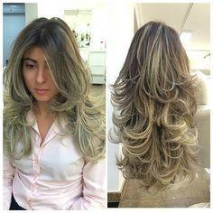 Cortes de cabello por capas