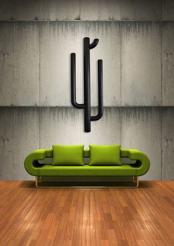 radiateur lectrique eau chaude vertical m tallique cactus metalform design radiateur. Black Bedroom Furniture Sets. Home Design Ideas