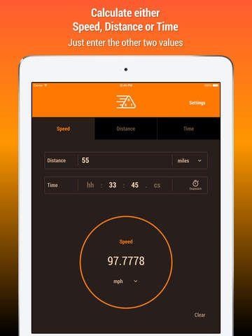 speed distance time calculator education ipad app 3 99