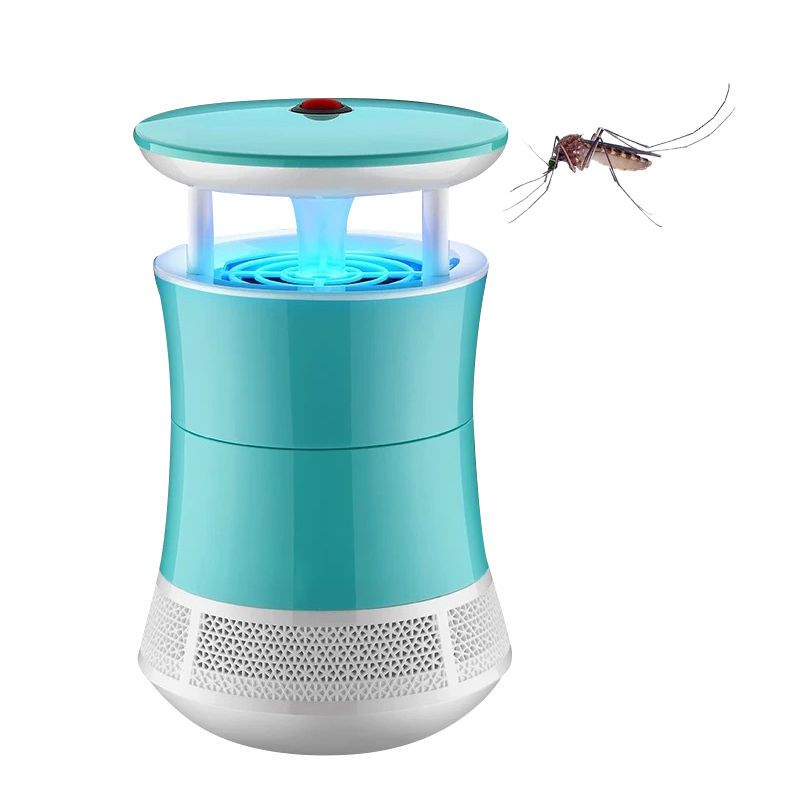 Home Indoor USB LED Light Electronic Mosquito Killer Insect Fly Bug Trap Catcher