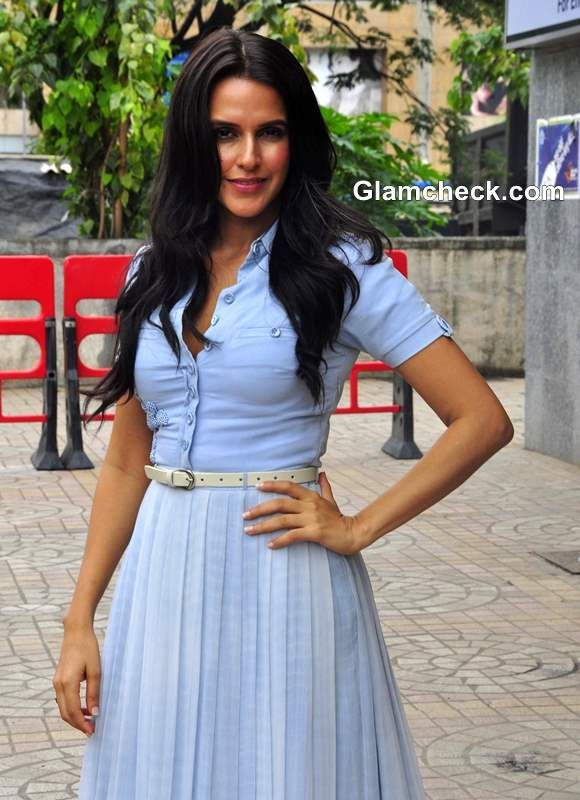 Celeb Style - Neha Dupia shows How to Wear a Formal Shirt with a ...
