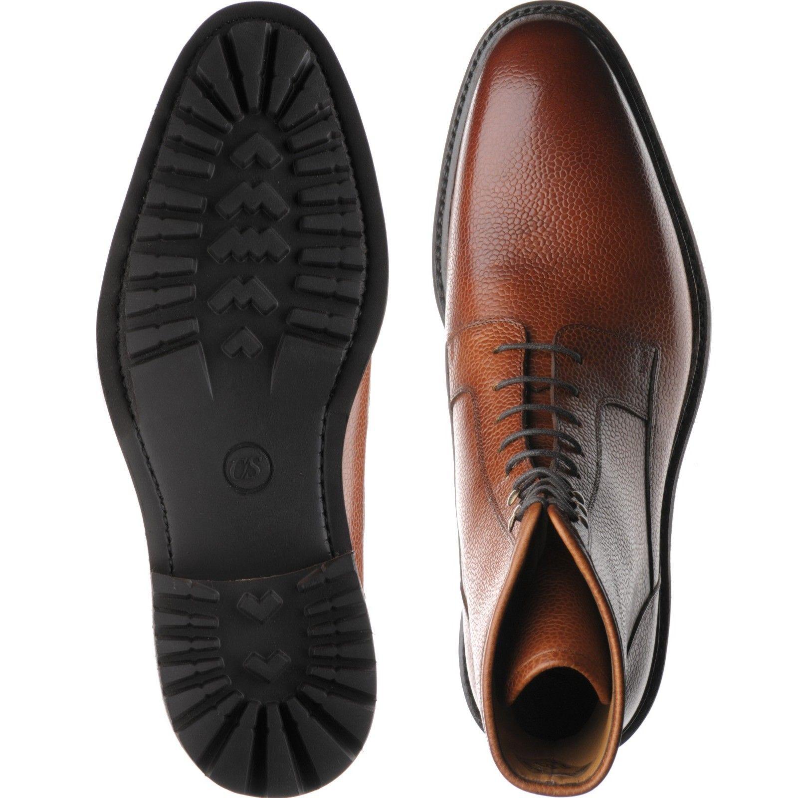 19a8de419bbd1 Herring shoes | Herring Classic | Churchstow Norwegian boot in Tan Grain at  Herring Shoes