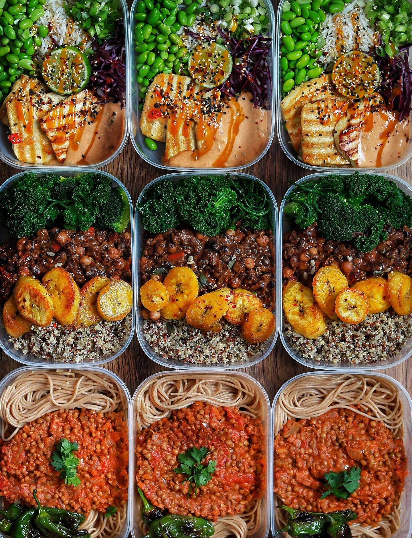 Protein Packed Meal Prep In 2019 Vegan Meal Plans