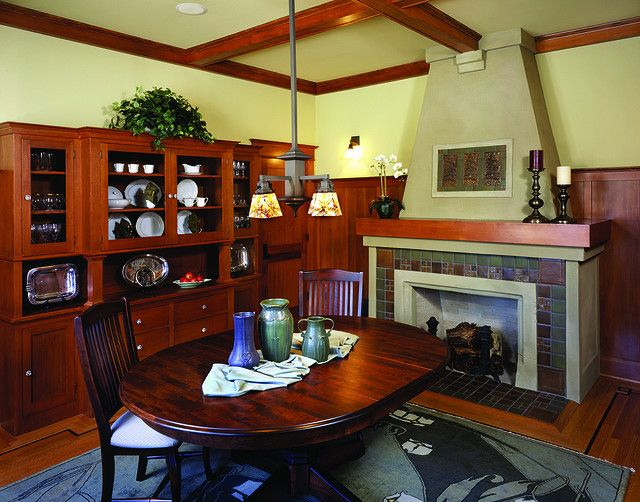 Dining Room Craftsman Oakdale Craftsman Dining Room House Design Dream Spaces