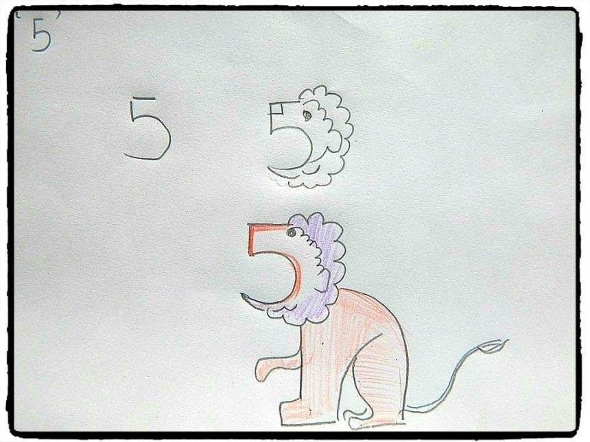 27 Ide Cara Menggambar Hewan Dimulai Dengan Huruf Dan Angka Cara Menggambar Gambar Hewan Gambar Simpel
