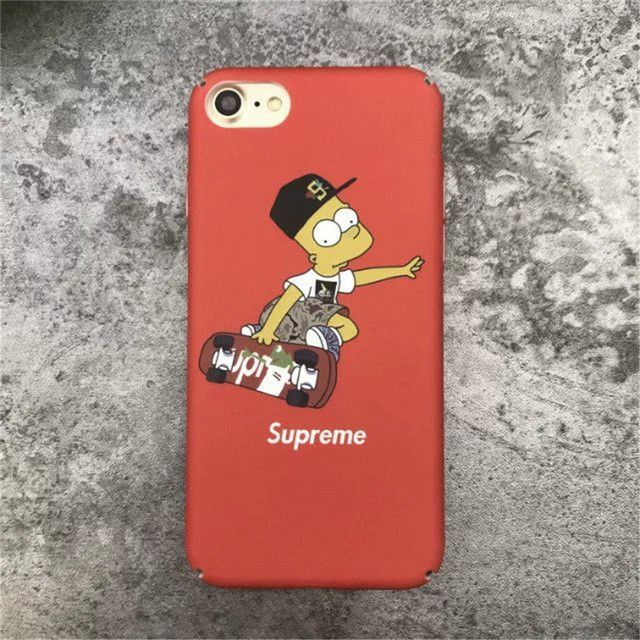 coque iphone 7 plus supreme simpson
