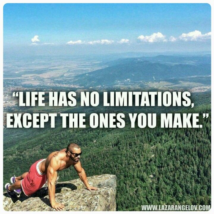 No Limits Just Do It!
