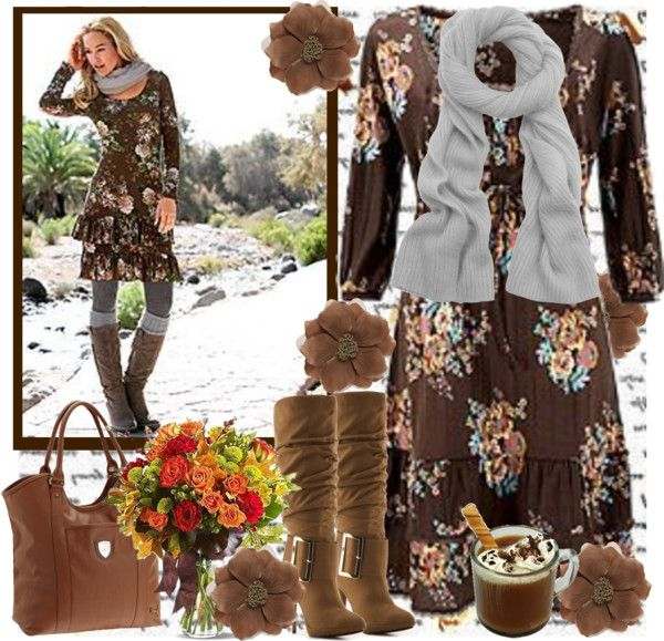 """""""~SHADES OF BROWN~"""" by tammynky ❤ liked on Polyvore"""