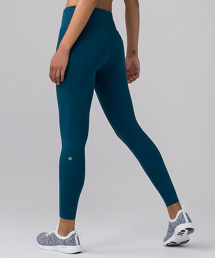 846062eb3be45a Fast & Free ⅞ Tight *Nulux Nile blue Quick Dry, Lululemon, Active Outfit