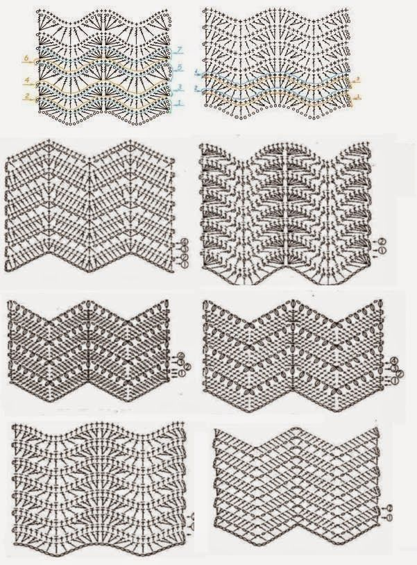 ponto zigzag crochet - Pesquisa Google | Bordados | Pinterest ...