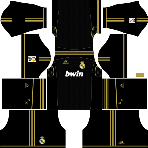 Real Madrid Kits 2011 2012 Dream League Soccer In 2020 Real Madrid Kit Real Madrid Real Madrid Goalkeeper