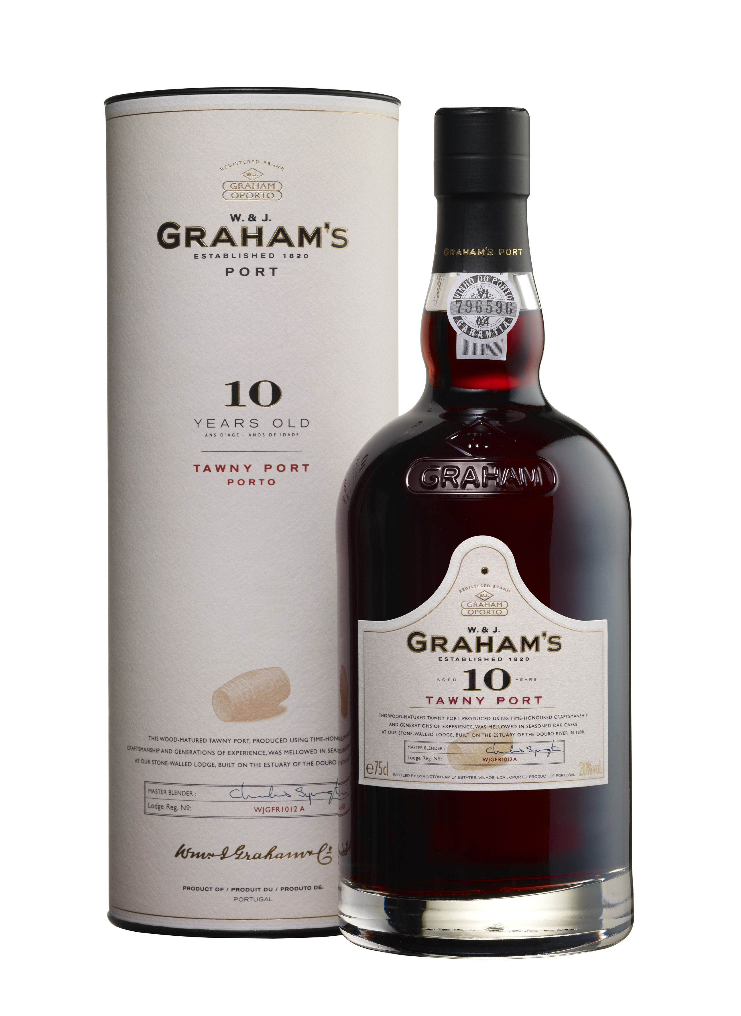 Graham S 10 Years Old Tawny Port J E Fells Port Wine Wine Case Wine And Beer