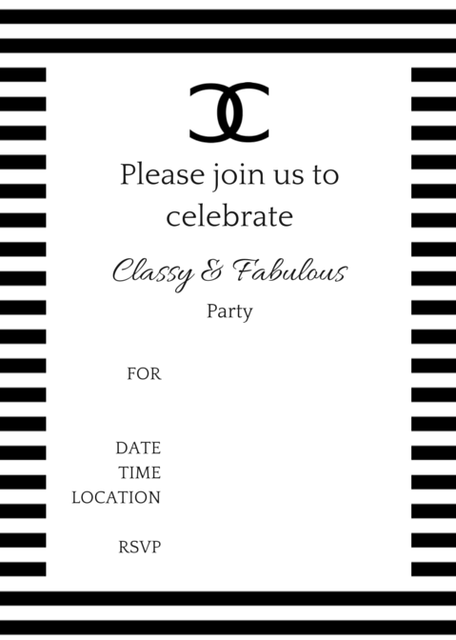 Coco Chanel Party Ideas Baby Shower Chanel Birthday Party
