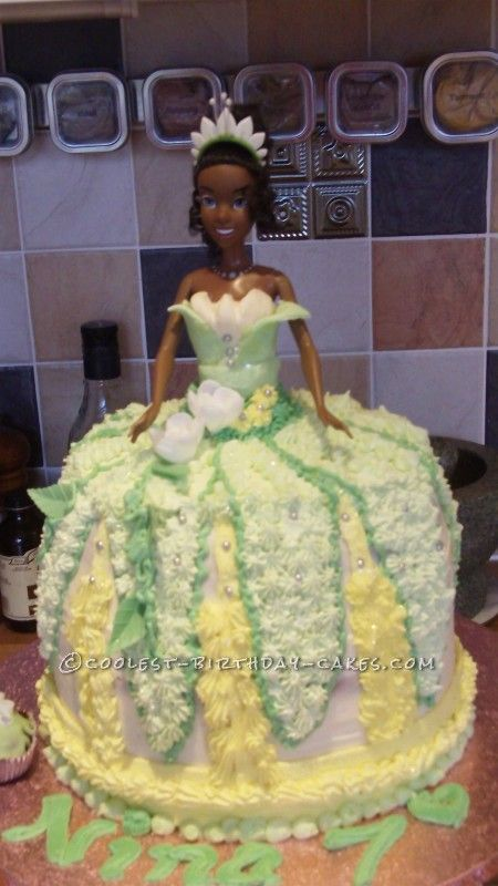 Coolest Disney Princess Tiana Cake Tiana Cake And Dresses