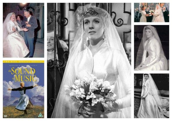 The Sound Of Music Wedding Dress Wedding Dresses In Cinema And In Televi