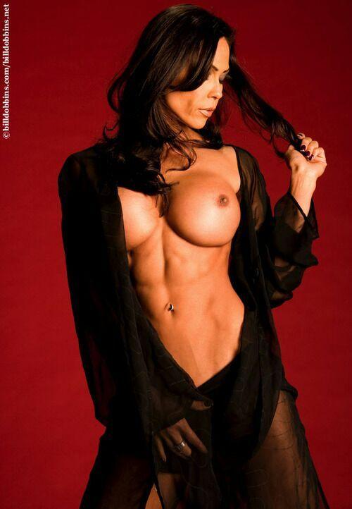 Naked shredded babe girls nude models