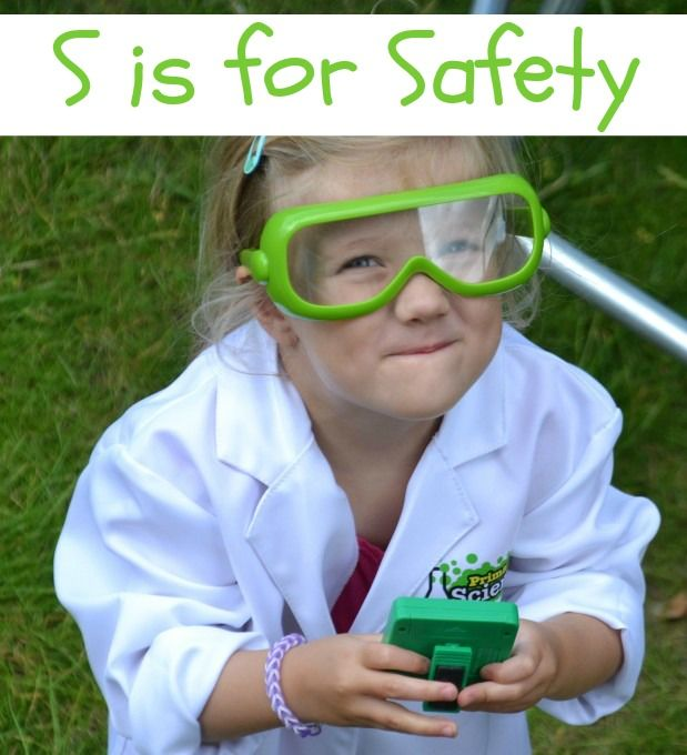 S is for Safety - Science Sparks