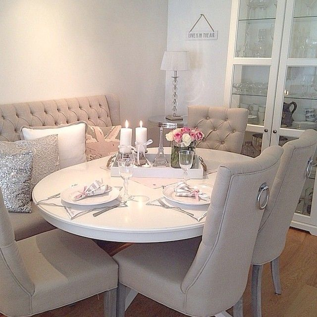 Dining Room - Grey White
