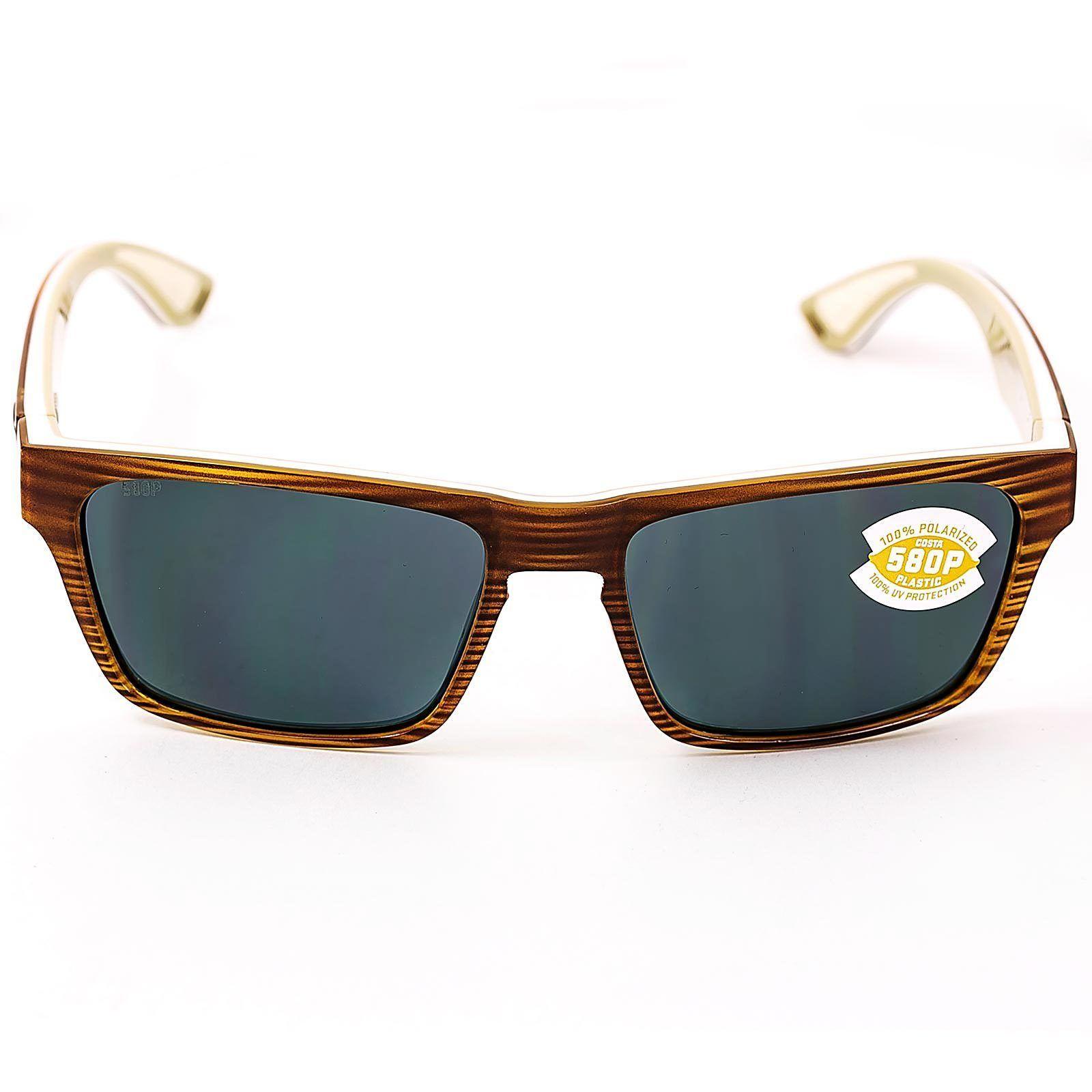 8286437f9cb42 Costa Del Mar HNO108OGP Men s Hinano Grey 580P Polarized Lenses Driftwood