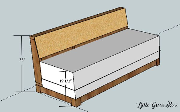Build Your Own Sofa Bed Diy Couch Plans For The Office