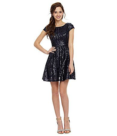 B darlin juniors dress strapless lace sequin sweetheart prom