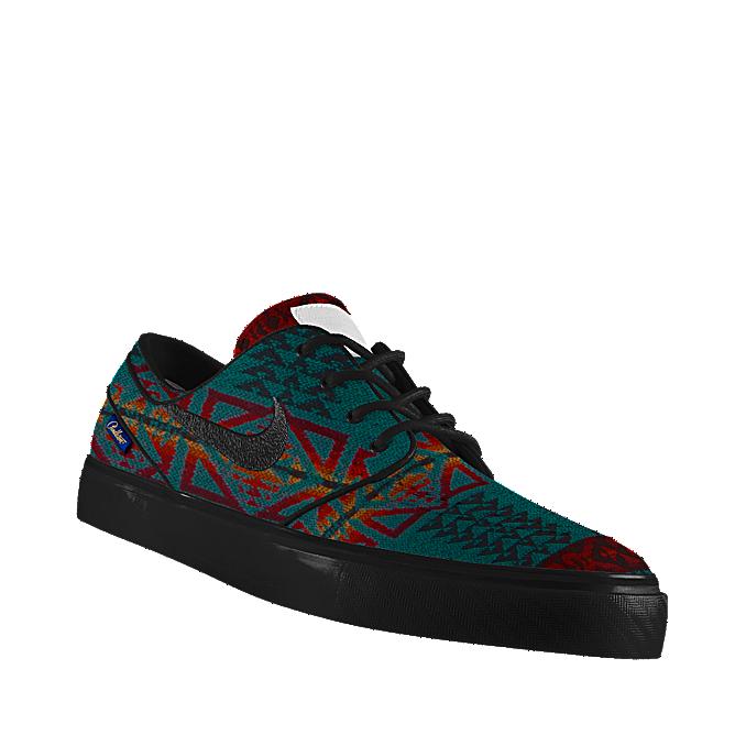 482cb66f7723 Custom Nike SB Zoom Stefan Janoski Low Premium Pendleton iD Skateboarding  Shoe