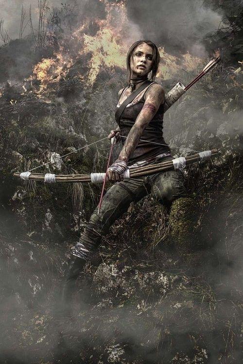Post-Apocalyptic Fashion<<< that is freaking Lara Croft