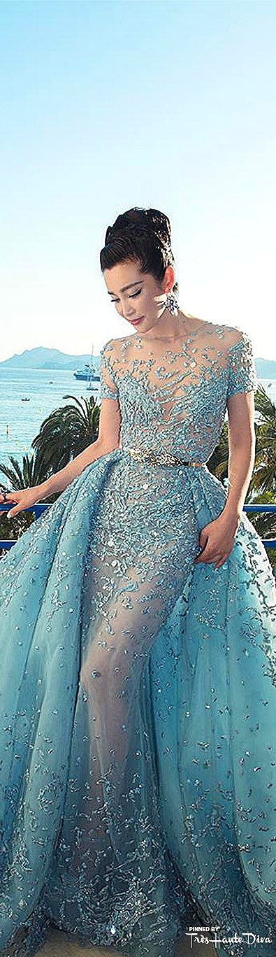 Li Bingbing in Zuhair Murad Spring 2015 Couture  ♔ Très Haute Diva ♔ Visit my new website at http://www.treshautediva.com/  jαɢlαdy