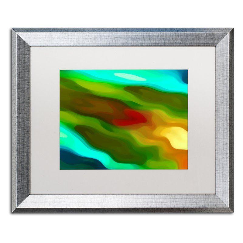 Trademark Fine Art River Runs Through 4 Matted Framed Art by Amy ...